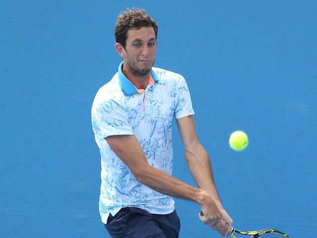 James Ward in action on day two of the Australian Open on January 20, 2015
