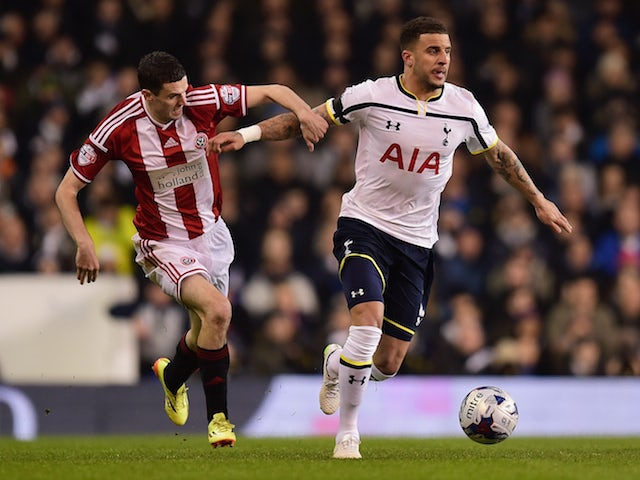 Result: Spurs edge past Sheffield United