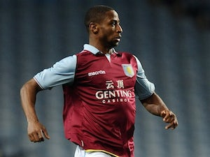 Janoi Donacien in action for Aston Villa on March 20, 2013