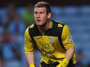 Huddersfield sign Villa keeper on loan