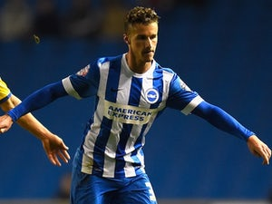 Joe Bennett in action for Brighton & Hove Albion on November 4, 2014