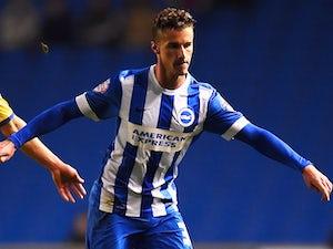 Joe Bennett in action for Brighton & Hove Albion on November 4, 2014
