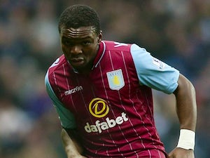 Jores Okore in action for Aston Villa on January 4, 2015