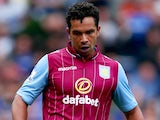 Kieran Richardson in action for Aston Villa on September 27, 2014