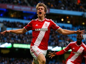 Man City stunned by Middlesbrough