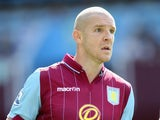 Philippe Senderos in action for Aston Villa on August 9, 2014