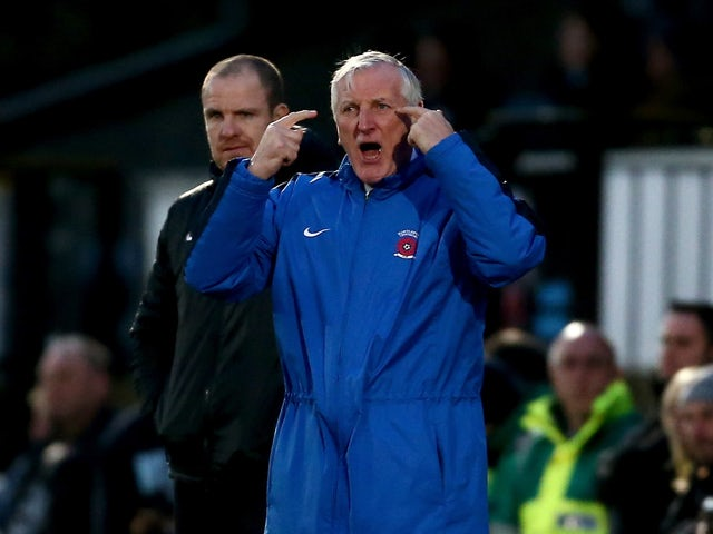 Ronnie Moore not blaming penalty takers