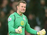 Shay Given in action for Aston Villa on January 4, 2015