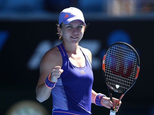 Halep Live Gallery: Result: Simona Halep Through After Fighting Past Bethanie