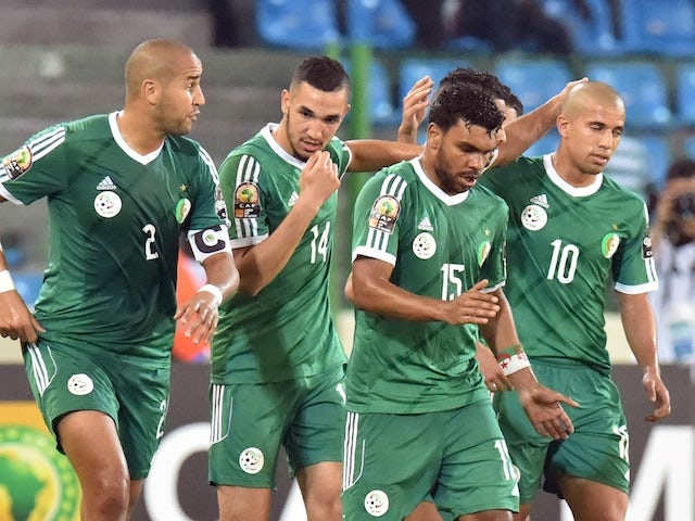 Result: Algeria progress at AFCON