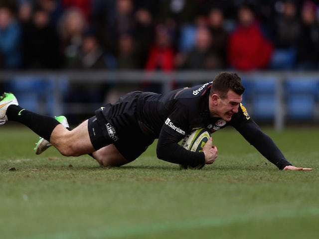 Result: Saracens edge out London Welsh