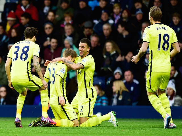 Result: Kane double helps Spurs to comfortable win