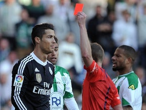 Ronaldo sees red: His nine dismissals