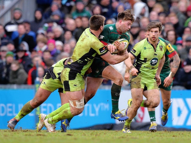 Result: Leicester battle to Northampton win