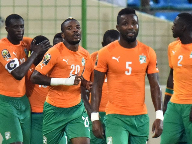 Result: Ivory Coast top Group D