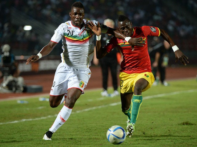 Result: Guinea, Mali to draw lots