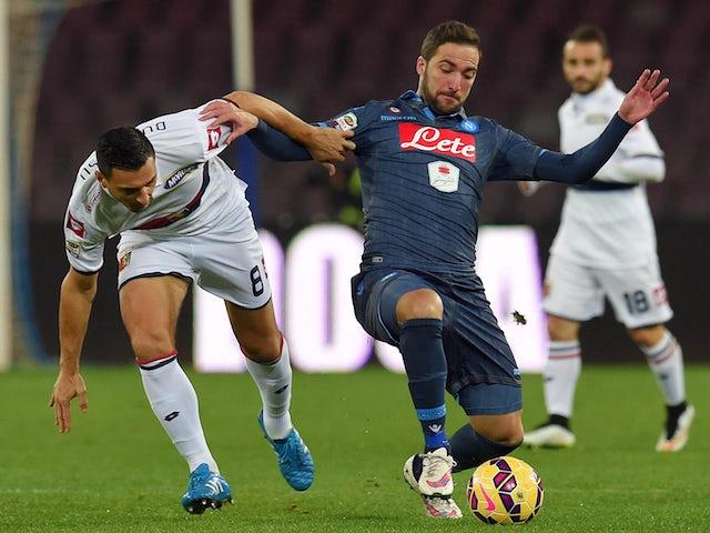 Result: Higuain double downs Genoa