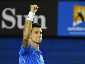"Djokovic hails ""great performance"""