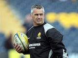 Worcester Warriors coach Shane Howarth during the Aviva Premiership match between Worcester Warriors and Sale Sharks at the Sixways Stadium, on February 22, 2014