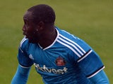 Adilson Cabral of Sunderland during a pre-season friendly match between Darlington and Sunderland at Heritage Park on July 19, 2014