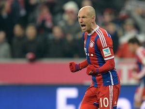 Robben breaks Stuttgart resistance