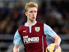 Ben Mee for Burnley on January 1, 2015