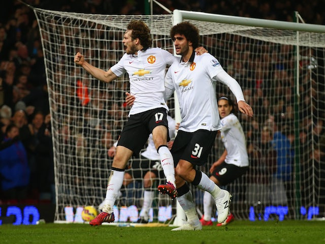 Result: Blind rescues Man United