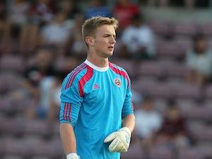 Motherwell loan Blades goalkeeper
