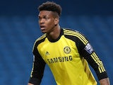 Jamal Blackman in action for Chelsea on May 1, 2014
