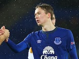 Kieran Dowell in action for Everton on December 11, 2014