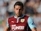 Lukas Jutkiewicz for Burnley on September 28, 2014