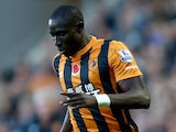 Mohamed Diame for Hull on November 1, 2014