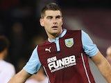 Sam Vokes for Burnley on January 5, 2015