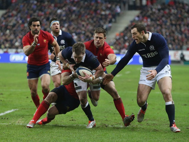 Result: France edge Scotland in Paris
