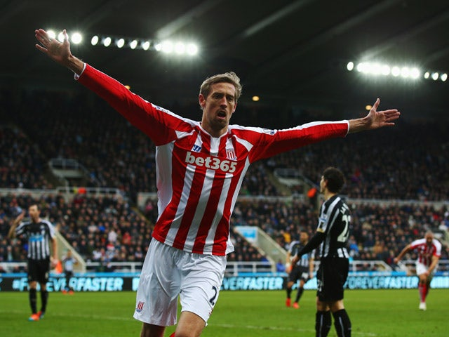 Result: Crouch rescues late point for Stoke