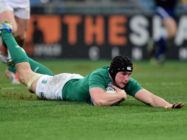 Result: Ireland overpower Italy