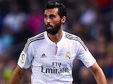 Alvaro Arbeloa for Real Madrid on October 29, 2014