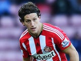 Billy Jones for Sunderland on January 1, 2015
