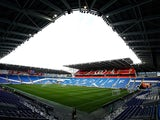A general view of the ground prior to the Sky Bet Championship match between Cardiff City and Leeds United at Cardiff City Stadium on November 1, 2014