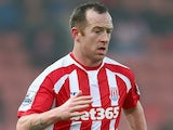 Charlie Adam for Stoke on January 4, 2015