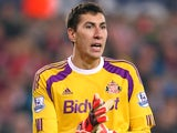 Costel Pantilimon for Sunderland on November 29, 2014