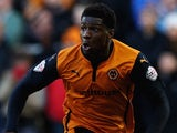 Dominic Iorfa in action for Wolves on January 24, 2015