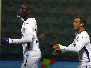 Babacar brace inspires Fiorentina win