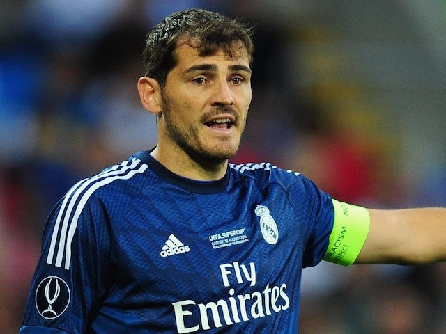 Iker Casillas takes aim at Manchester United boss Jose ...   Iker Casillas