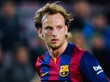 Ivan Rakitic for Barcelona on February 11, 2015
