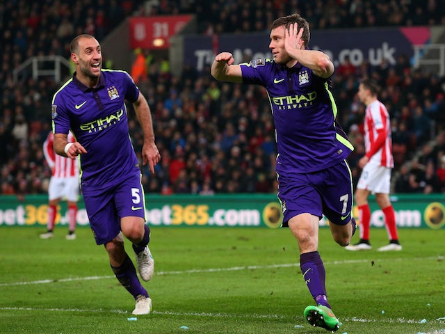 Live Commentary Stoke City 1 4 Manchester City As It Happened
