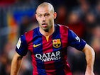 Javier Mascherano for Barcelona on February 11, 2015