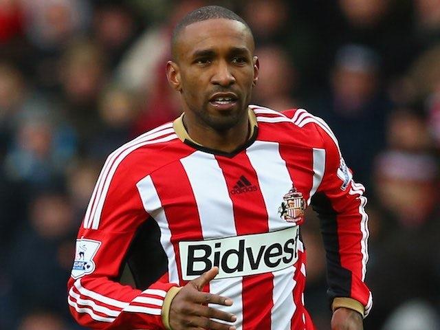 Jermain Defoe for Sunderland on January 31, 2015