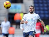 John Welsh of Preston North End in action during the Sky Bet League One match between Preston North End and Leyton Orient at Deepdale on February 15, 2014