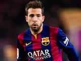 Jordi Alba for Barcelona on December 7, 2014